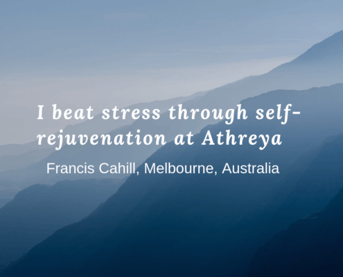Elimination of Stress through Self-Rejuvenation