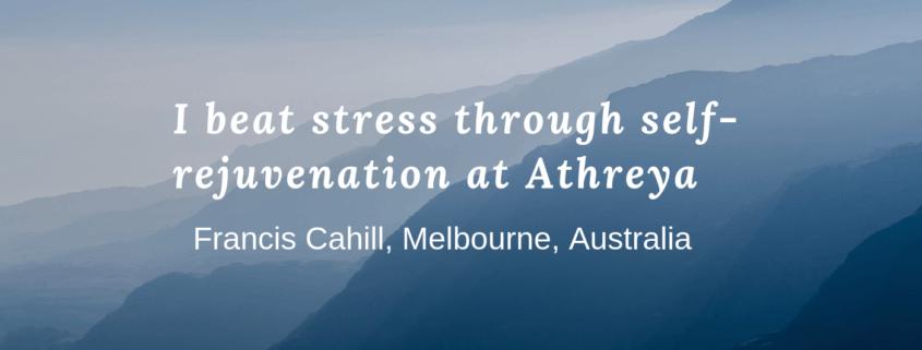 Elimination of Stress through Self-Rejuvenation