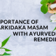 with Ayurveda Remedies